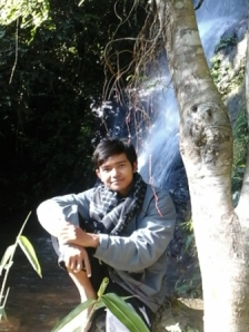 at curuk pitu waterfall